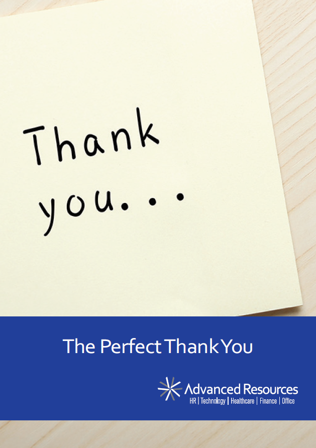 The Perfect Thank You