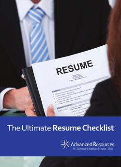 Ultimate Resume Checklist